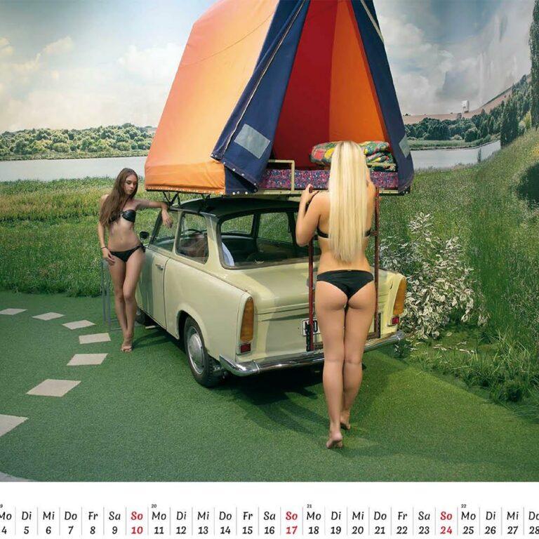 Trabantkalender 2020 jetzt exklusiv auf Trabantkultur bestellen.